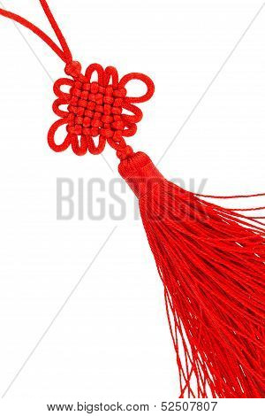 Endless Knot Silk Tassel