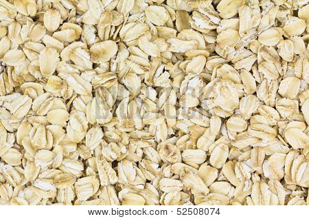 Rolled Oats Background.