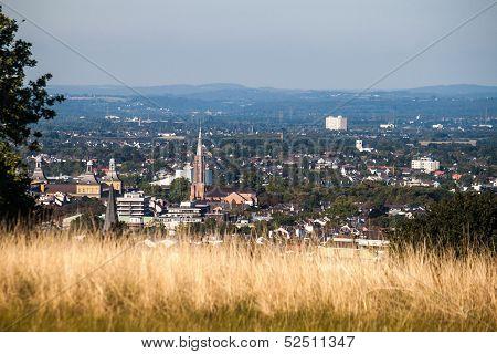 View on a city of Bonn