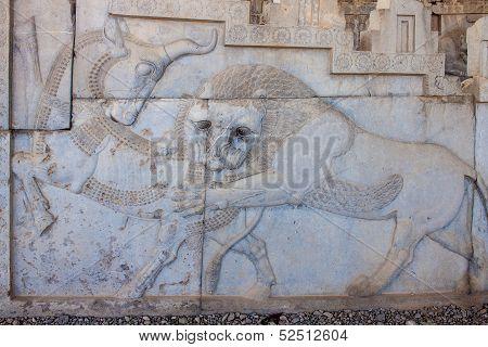 Ruins of ancient Persepolis