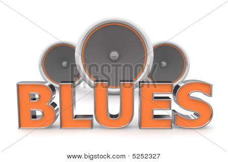 Speakers Blues - Orange