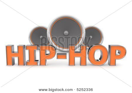 Speakers Hip-hop - Orange