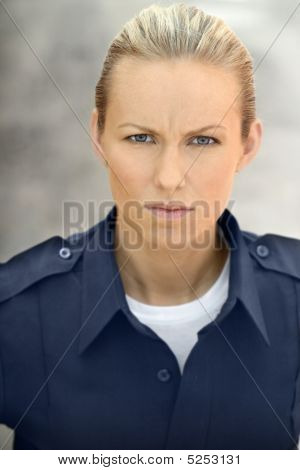 Blue Collar Woman