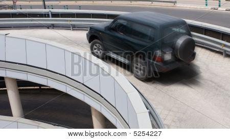 Airport Parking Garage Ramp