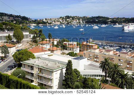 Bay on Saint-Jean-Cap-Ferrat near Nice