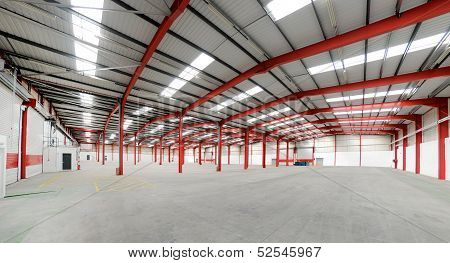 Vacant Warehouse Interior