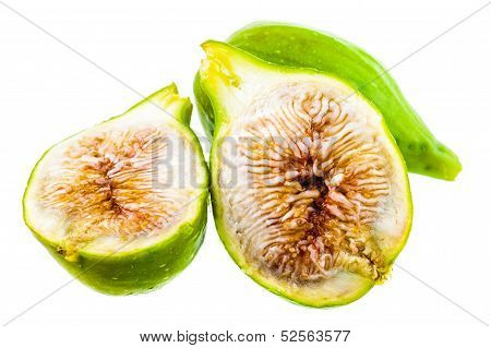 Figs Over White