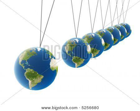 Balancing Earth Spheres
