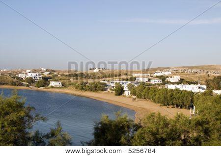Logaras Beach Paros Island Cyclades Greece