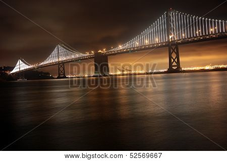 Bay Bridge, San Francisco and Oakland