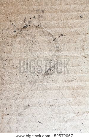 Old Dirty Cardboard Background