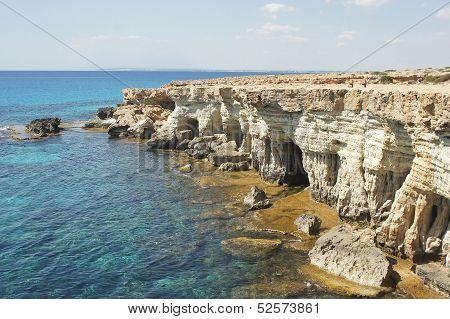 Sea Caves, Cyprus, Europe