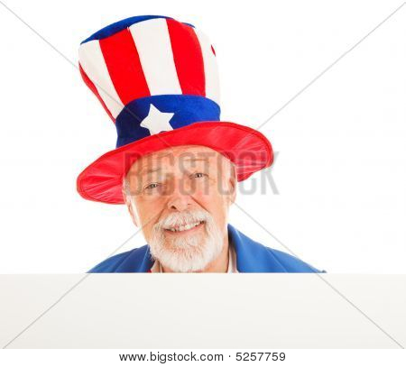 Tío Sam Head - feliz