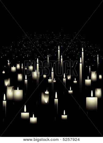 Candle background