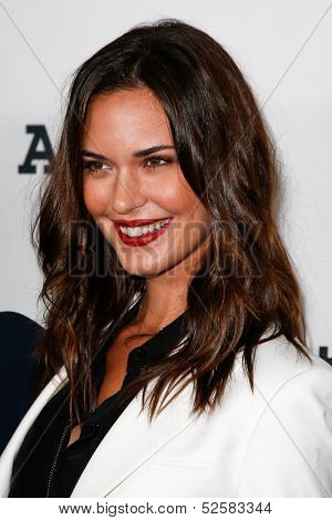 NEW YORK- OCT 17: Actress Odette Annable attends the Project A.L.S. 15th Anniversary benefit at Roseland Ballroom on October 17, 2013 in New York City.