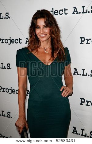 NEW YORK- OCT 17: Actress Gina Gershon attends the Project A.L.S. 15th Anniversary benefit at Roseland Ballroom on October 17, 2013 in New York City.