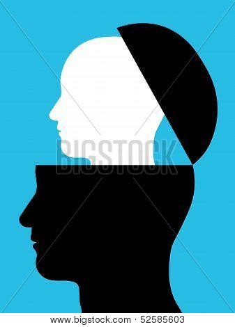 Head inside a head