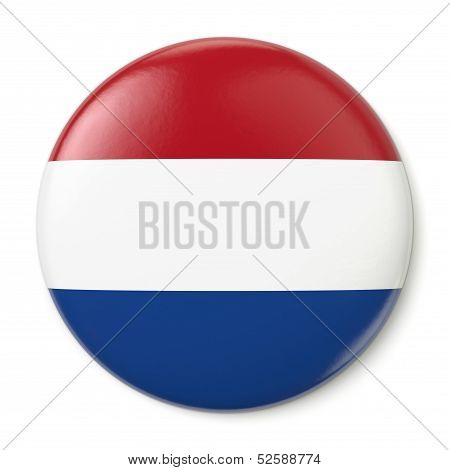 Netherlands Pin-back