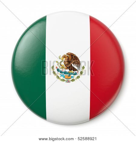 Mexico Pin-back
