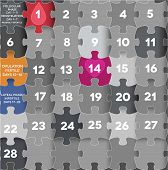 image of ovary  - Menstrual calendar Avarage menstrual cycle - JPG