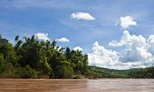 picture of ou  - Countryside around Nam Ou river in Laos - JPG