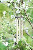 image of windchime  - A close - JPG