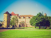 Retro Look Altes Schloss (old Castle) Stuttgart