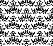 Damask naadloze patroon - Vector
