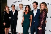 NEW YORK- OCT 17: Actor Paul Rudd (second right) attends the Project A.L.S. 15th Anniversary benefit