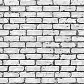 picture of brick block  - Brick wall seamless pattern - JPG