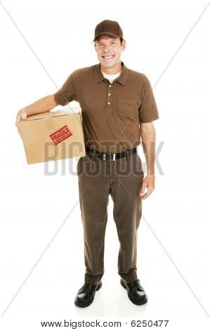 Delivery Man Full Body