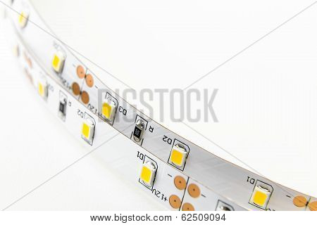 Two Led Strip With 3-chip Smd Modules Uninsulated