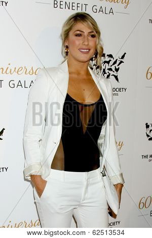 LOS ANGELES - MAR 29:  Emma Slater at the Humane Society Of The United States 60th Anniversary Gala at Beverly Hilton Hotel on March 29, 2014 in Beverly Hills, CA