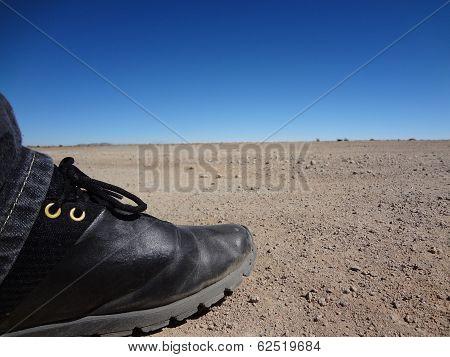 Step in desert