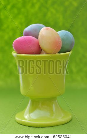 Easter Eggs In Eggcup