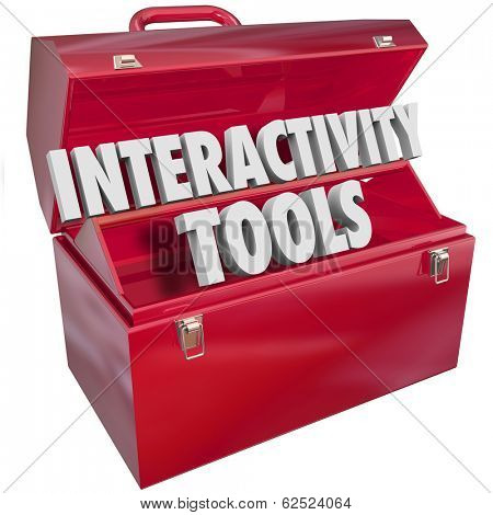 Interactivity Tools 3D Red Toolbox Process Methods Participation