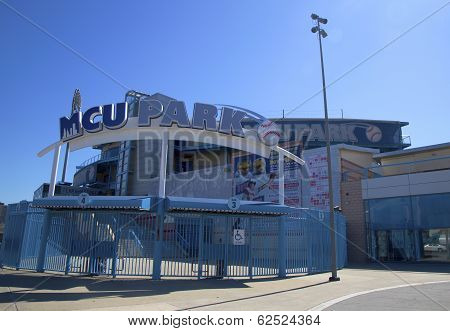 MCU ballpark a minor league baseball stadium in the Coney Island section of Brooklyn