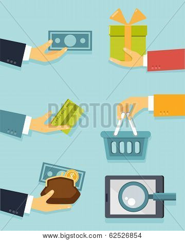 Payments and sales