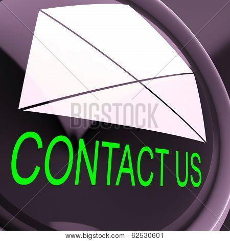 Contact Us Envelope Means Feedback And Discussing
