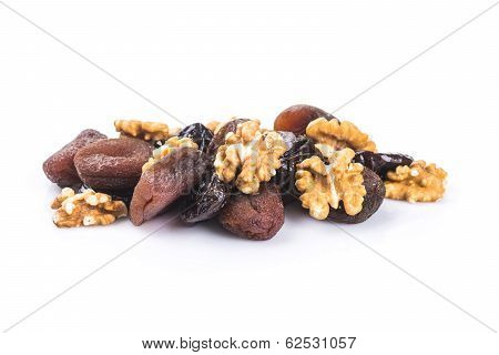 Dried Apricots And Plums