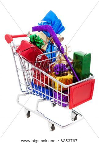 Christmas Shopping Cart