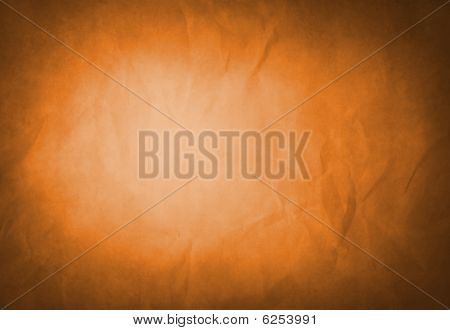 Abstract Amber Grunge Background