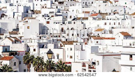 Vejer De La Frontera Rooftops. Costa De La Luz, Spain