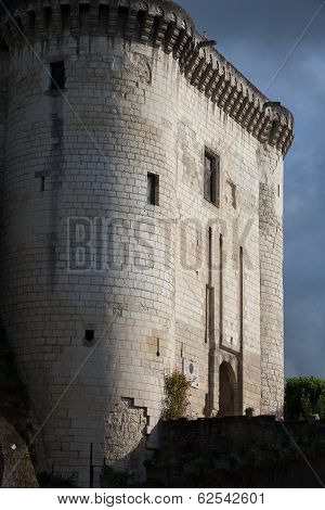 Chateau de Loches in Loire Valley France