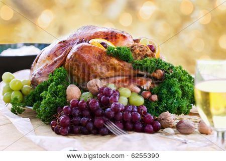 Roasted Turkey For The Holidays