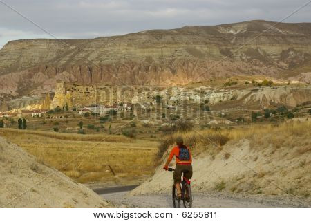 Bicycle Trip Over Cappadocia, Turkey