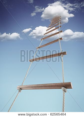 Rope-ladder to the sky