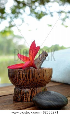 Spa and aromatherapy concept