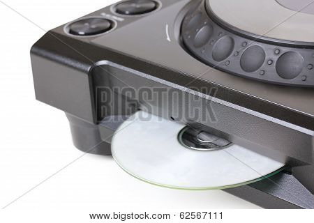 Dj Cd Player With Compact Disk