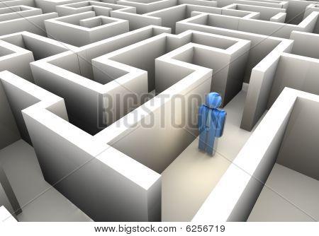 verloren im Labyrinth